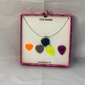 NWT Steve Madden Dogtag Necklace